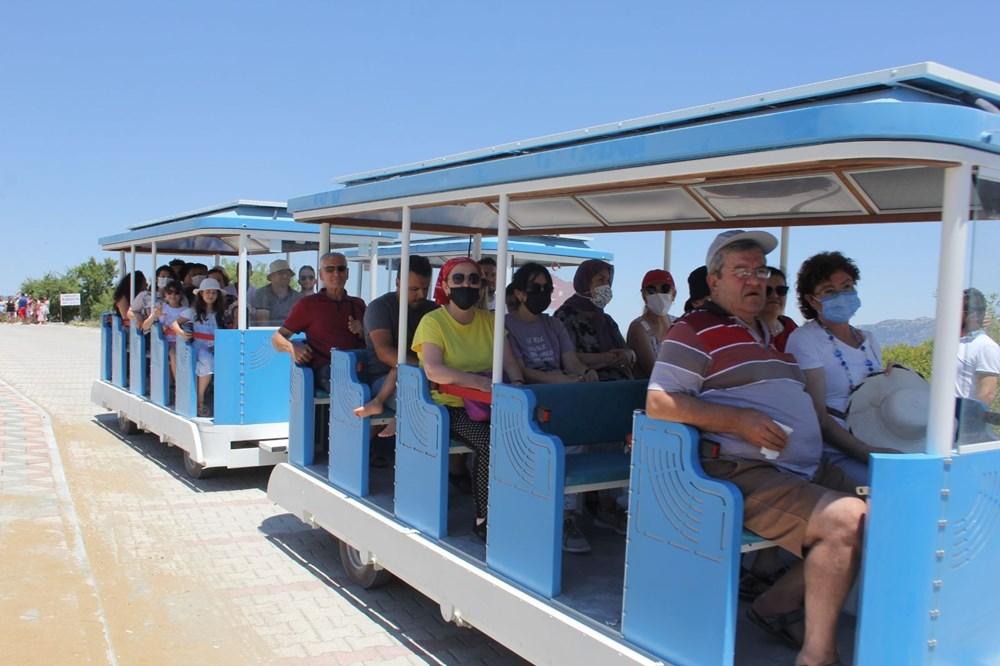 Salda Gölü'ne araç girişi yasaklandı, 'Gara Tren' dönemi başladı - 5