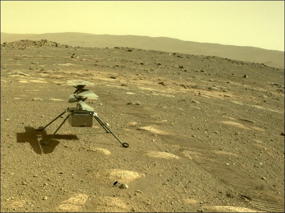 Ingenuity, Mars'tan ilk renkli fotoğrafı gönderdi - 1