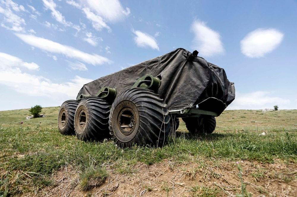 Dijital birliğin robot askeri Barkan göreve hazırlanıyor (Türkiye'nin yeni nesil yerli silahları) - 122
