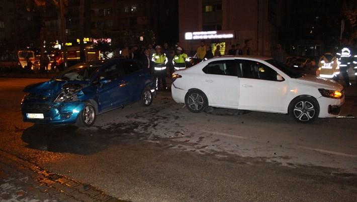 Adana'da zincirleme kaza: 6 yaralı