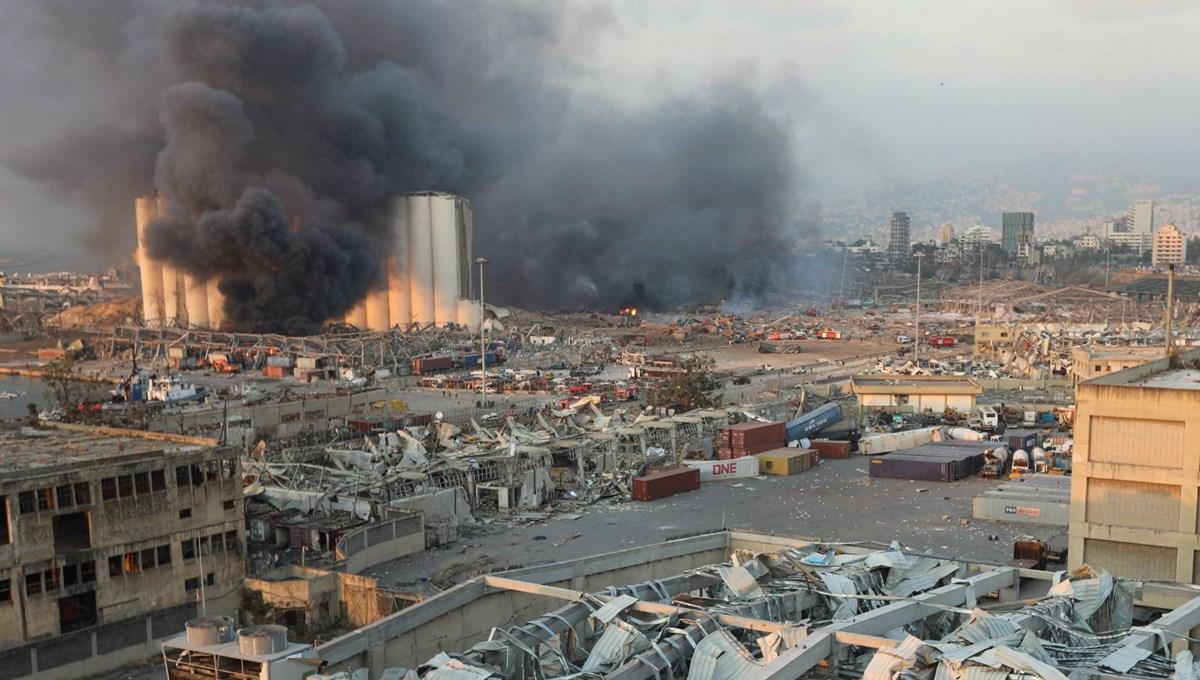 Beyrut Limanı'ndaki patlamada ağır bilanço: 154 ölü, 6 bin yaralı