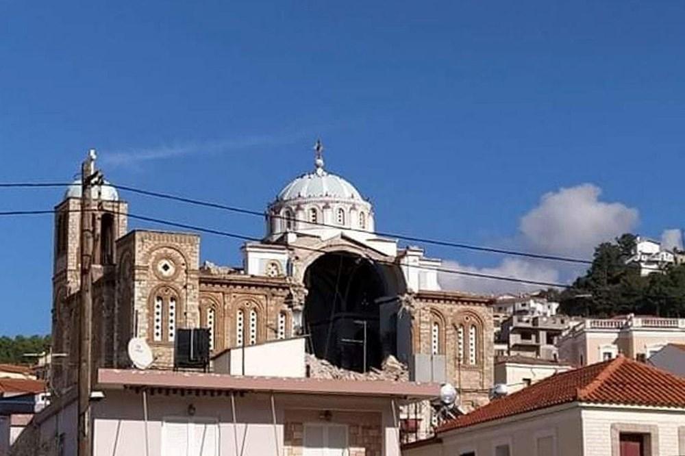 Depremin vurduğu Yunan adası Sisam'da son durum - 21