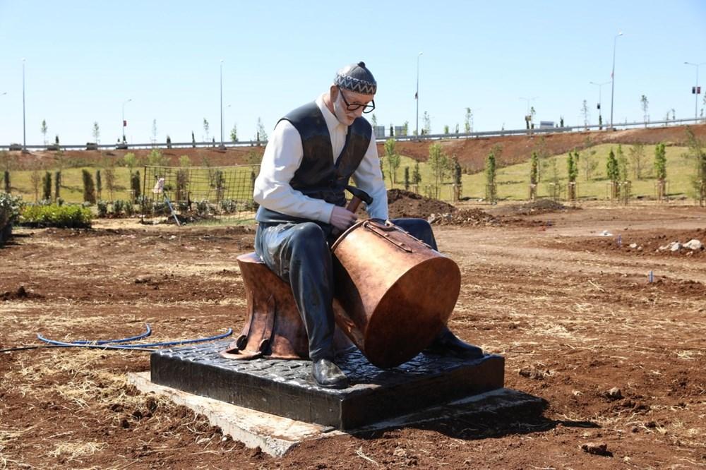 Diyarbakır'da karpuz heykeli tartışması - 14