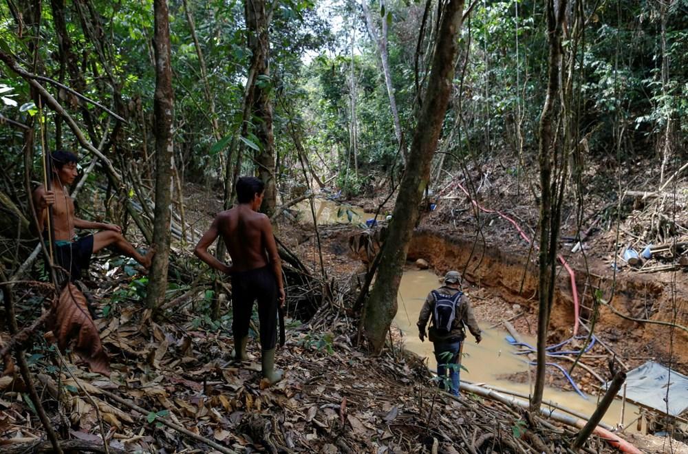 Amazon'un son  kabilesi altın avcıları nedeniyle tehlikede - 3