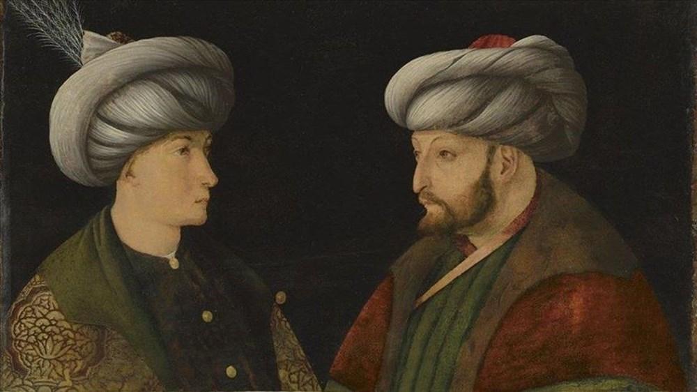 Murat Bardakçı: İBB'nin aldığı tabloda Fatih'in karşısındaki kişi Cem Sultan değil - 6