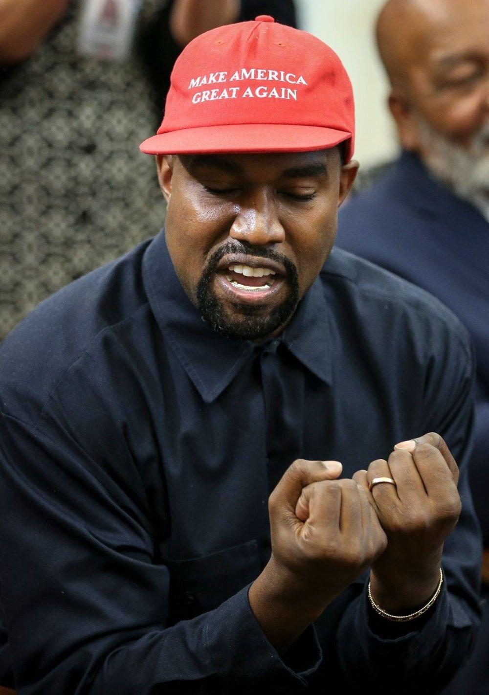 Kim Kardashian'ın eşi rap şarkıcısı Kanye West ABD Başkanlığı'na aday oldu - 10