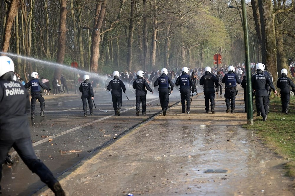 Police intervened when the festival, which was announced as April 1 joke in Belgium, turned into reality - 9