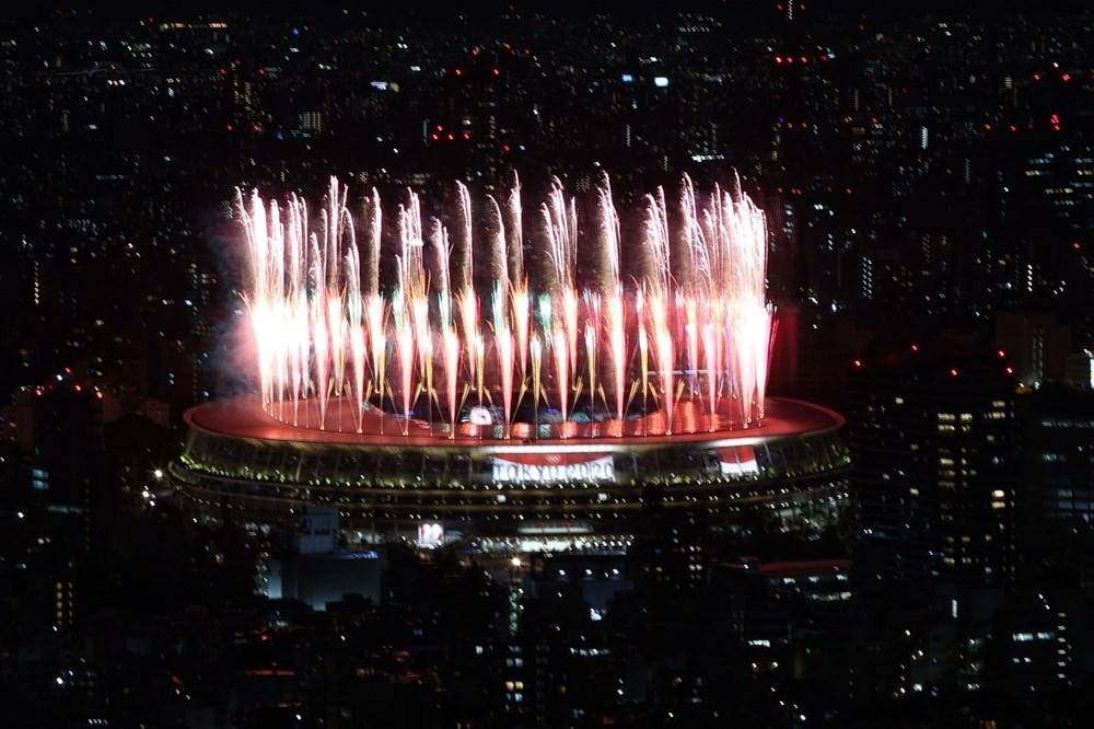 2020 Tokyo Olimpiyatları görkemli açılış töreniyle başladı - 64