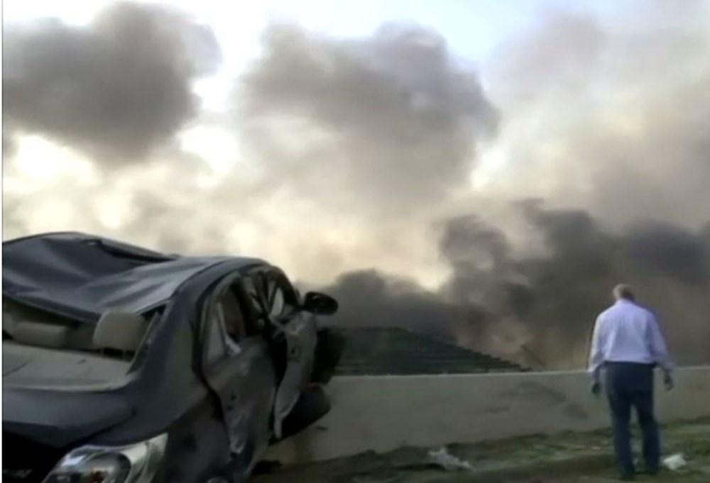 Patlamanın vurduğu Beyrut'tan son görüntüler
