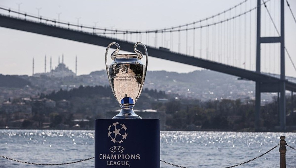 SON DAKİKA:2023 Şampiyonlar Ligi Finali İstanbul'da
