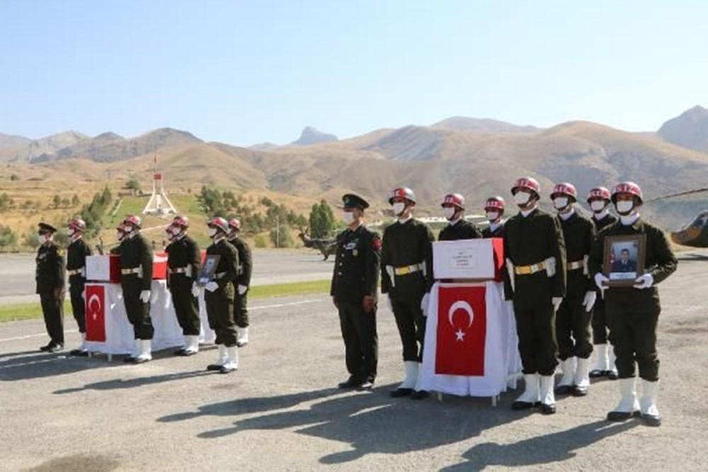 Şehit askerler için tören - 7