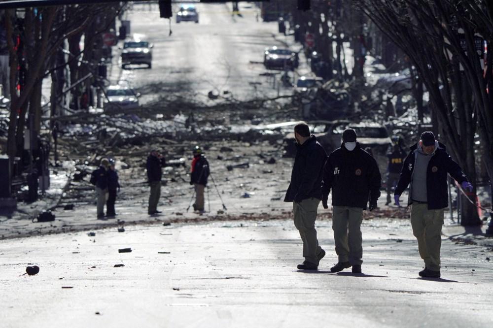 Amerika Birleşik Devletleri'nde Nashville-4'teki patlama ile bağlantılı olarak bir kişinin kimliği belirlendi.