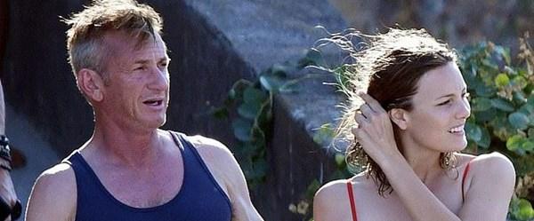 Sean Penn 31 yaş küçük sevgilisiyle tatilde (Aralarında yaş farkı olan ünlüler)