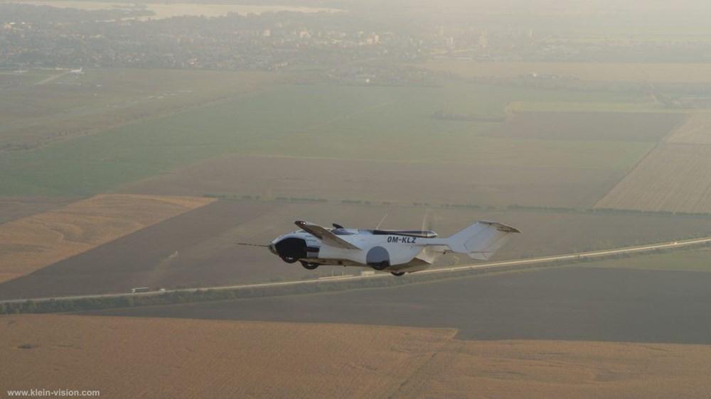 Uçan araba 35 dakikalık testi başarıyla tamamladı - 4