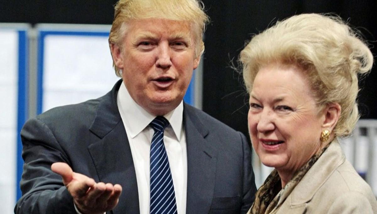 ABD Başkanı Donald Trump'ın kız kardeşinin ses kayıtları ortaya çıktı