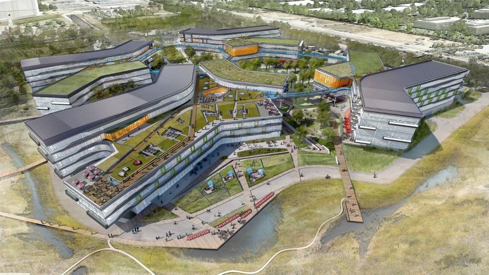 Google'ın mega kampüsüne ABD'den onay - 1