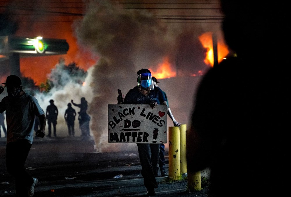 ABD'de yine polis şiddeti (Atlanta kenti karıştı) - 3