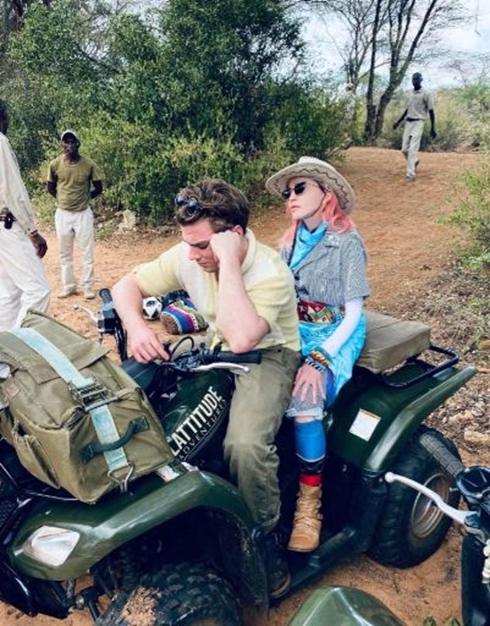 Madonna seyahat kısıtlamasına rağmen 3 haftada 5 ülke gezdi - 2