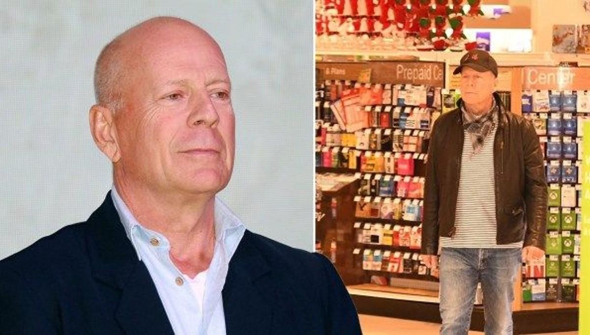 Maskesiz girdiği eczaneden kovulan Bruce Willis özür diledi