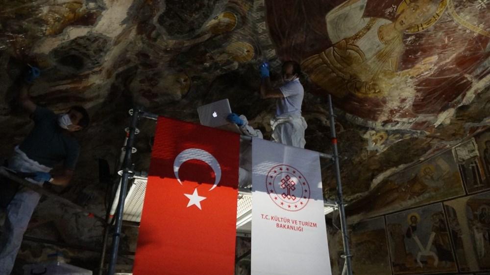 Sümela Manastırı 5 yıl sonra ziyarete açıldı - 13