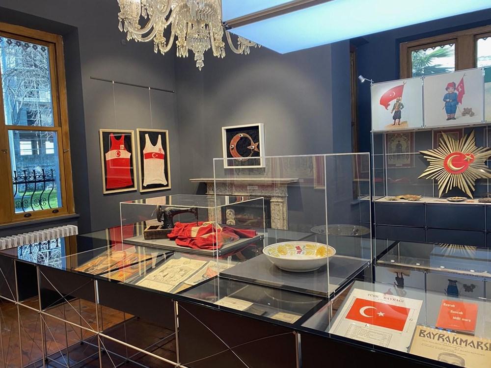 Türkiye'nin ilk milli bayrak müzesi tarihe ışık tutuyor - 3