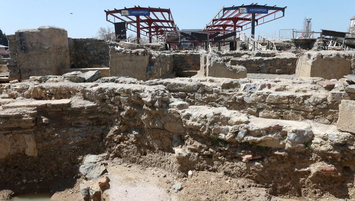 Haydarpaşa Garı'nda arkeolojik bulgu