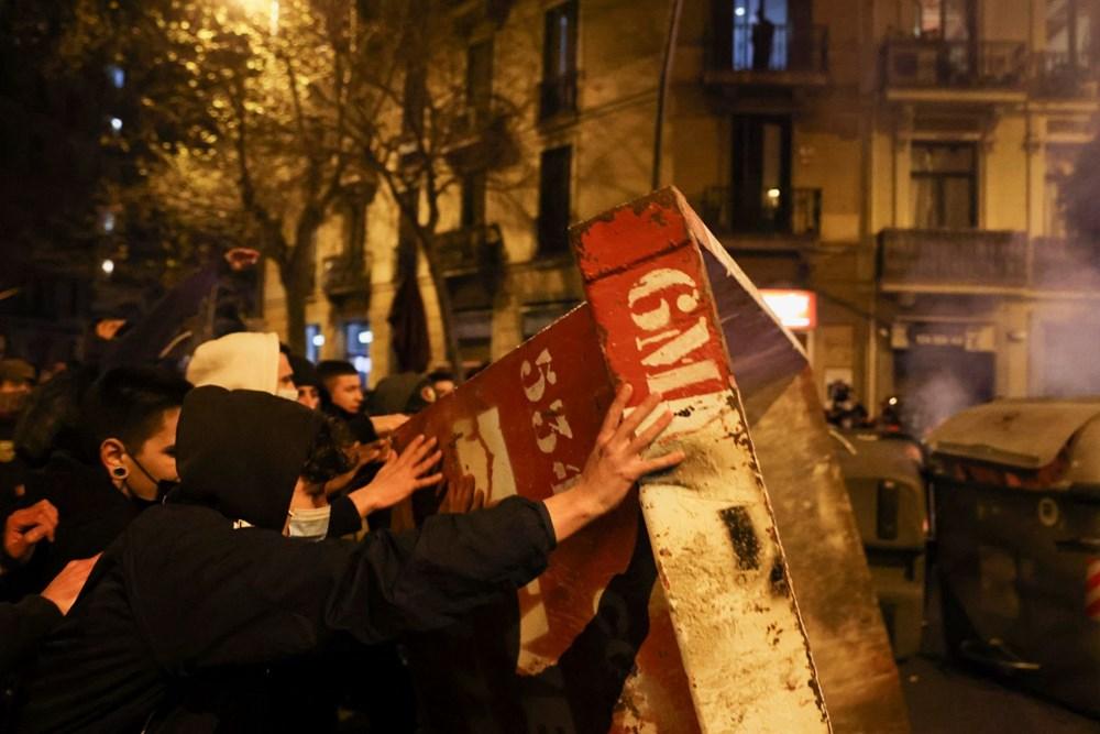 İspanya'da tutuklanan rapçi Hasel'e destek gösterileri üçüncü gününde - 8