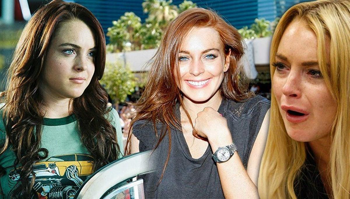 Geçmişini unutturmaya çalışan yıldız Lindsay Lohan