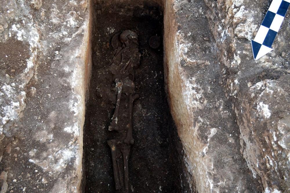 Perre Antik Kenti'nde 1500 yıllık insan iskeleti bulundu - 2
