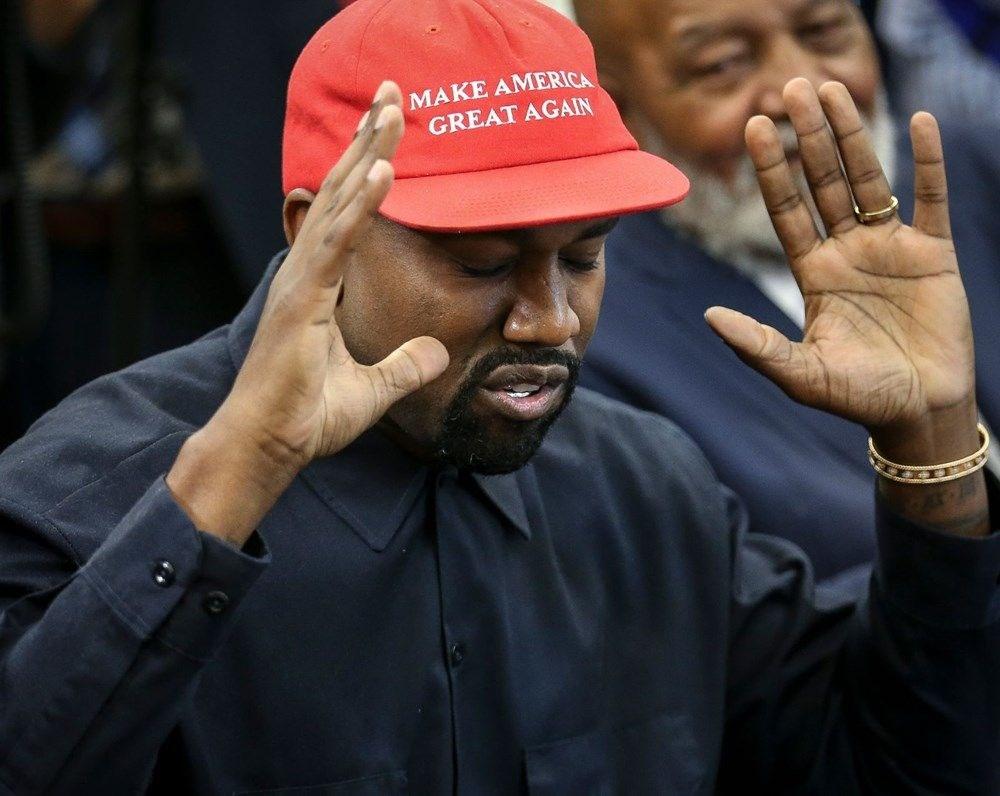Kim Kardashian'ın eşi rap şarkıcısı Kanye West ABD Başkanlığı'na aday oldu - 11