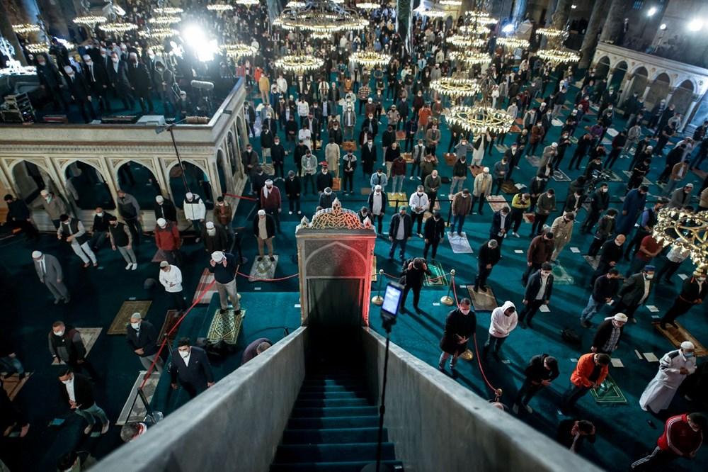 Ayasofya'da 87 yıl sonra ilk Ramazan Bayramı namazı kılındı - 10