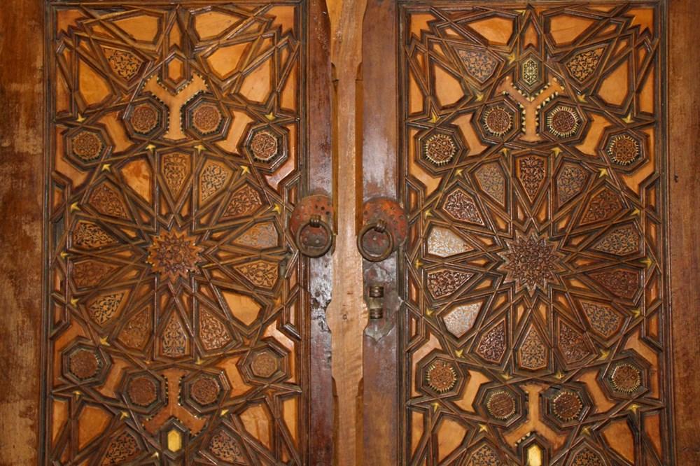 Sultan II. Bayezid Camisi'nin penceresinde Kayı sembolleri bulundu: Dünyada tek örnek - 9