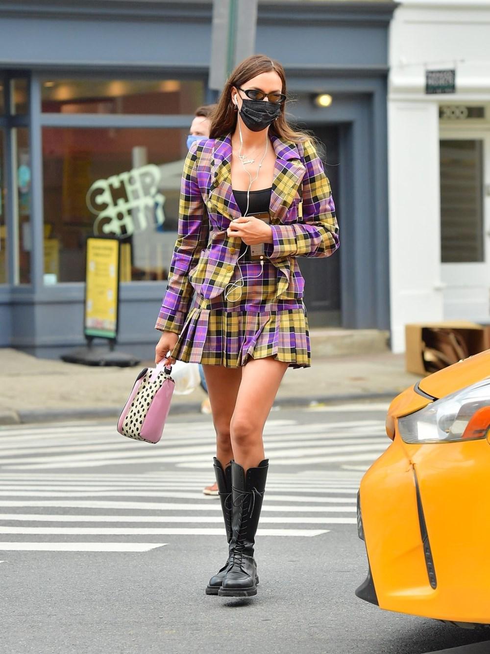 Irina Shayk'ın sokak stili - 2
