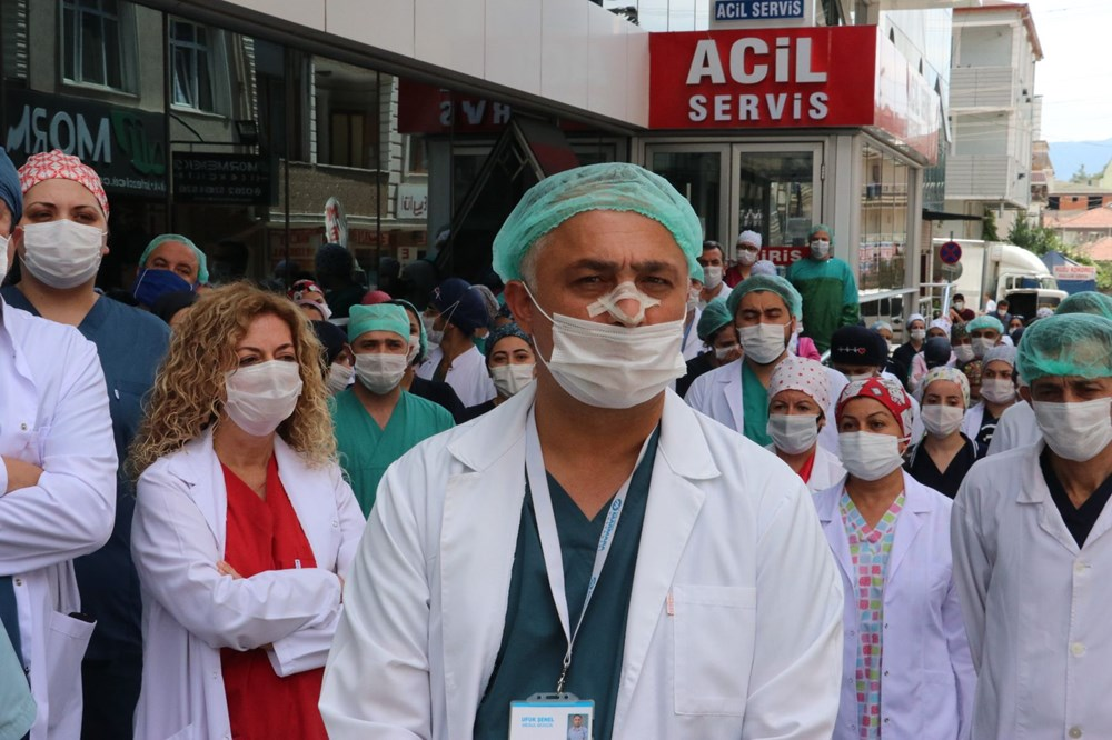 Hastanede güvenlik görevlisi ve doktora saldırı - 10
