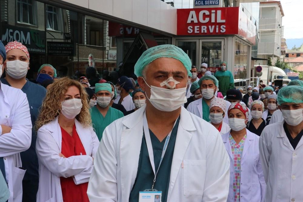 Hastanede güvenlik görevlisi ve doktora saldırı - 12