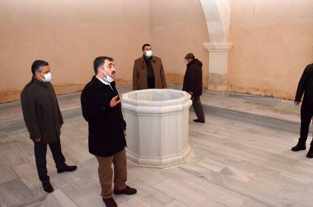 Osmanlı'dan kalma Hatun Hamamı kapılarını yeniden açıyor - 6