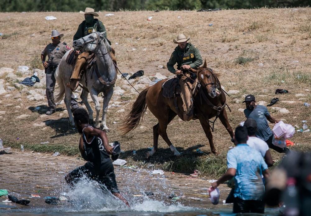 ABD'li sınır muhafızları kementlerle göçmenlere saldırdı: Beyaz Saray özür diledi - 6