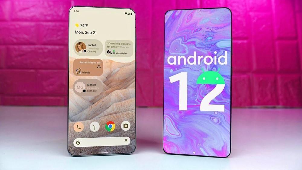 Android 12 güncellemesini alacak telefonlar - 1