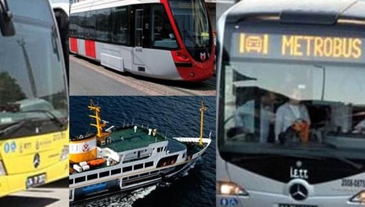 İstanbul'da toplu taşıma araçları bugün 04.00'te seferlerine başlayacak