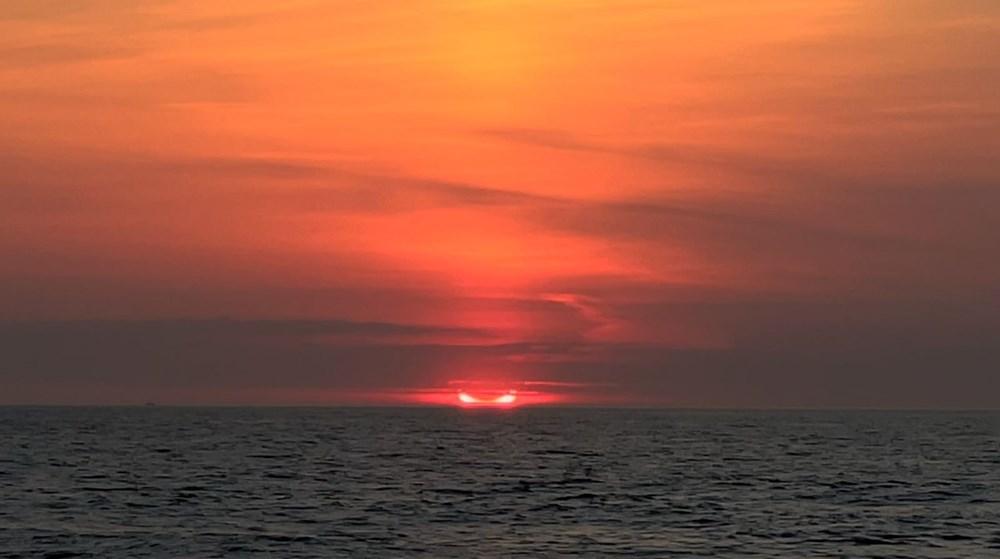 'Ateş Çemberi' Güneş Tutulması gerçekleşti - 8
