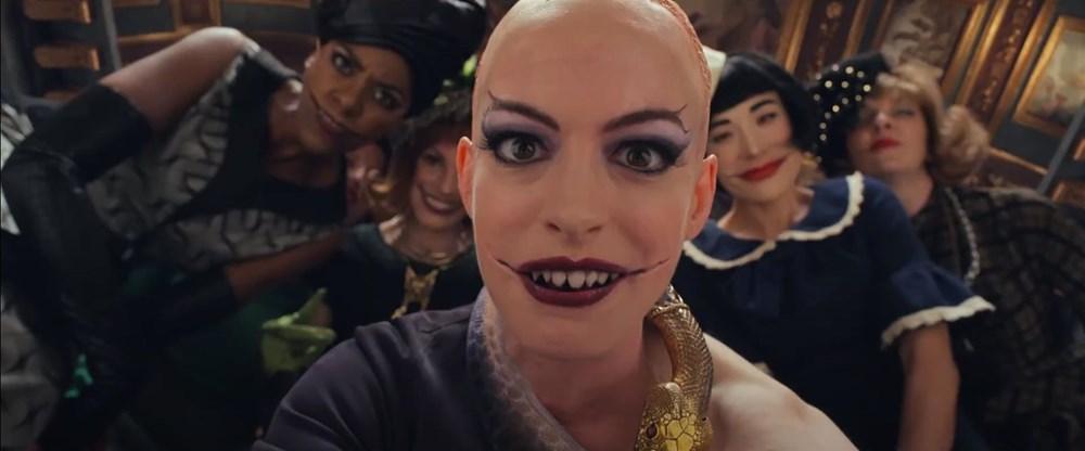 Anne Hathaway The Witches'ın kamera arkası görüntülerini paylaştı - 3