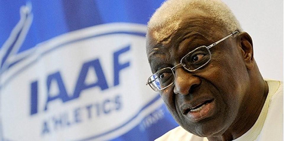 Fransa'da yolsuzluk ve ve kara para aklamakla suçlanan eski Uluslararası Atletizm Federasyonu Birliği Başkanı Lamine Diack, Uluslararası Atletizm Vakfı başkanlığı görevinden istifa etti.