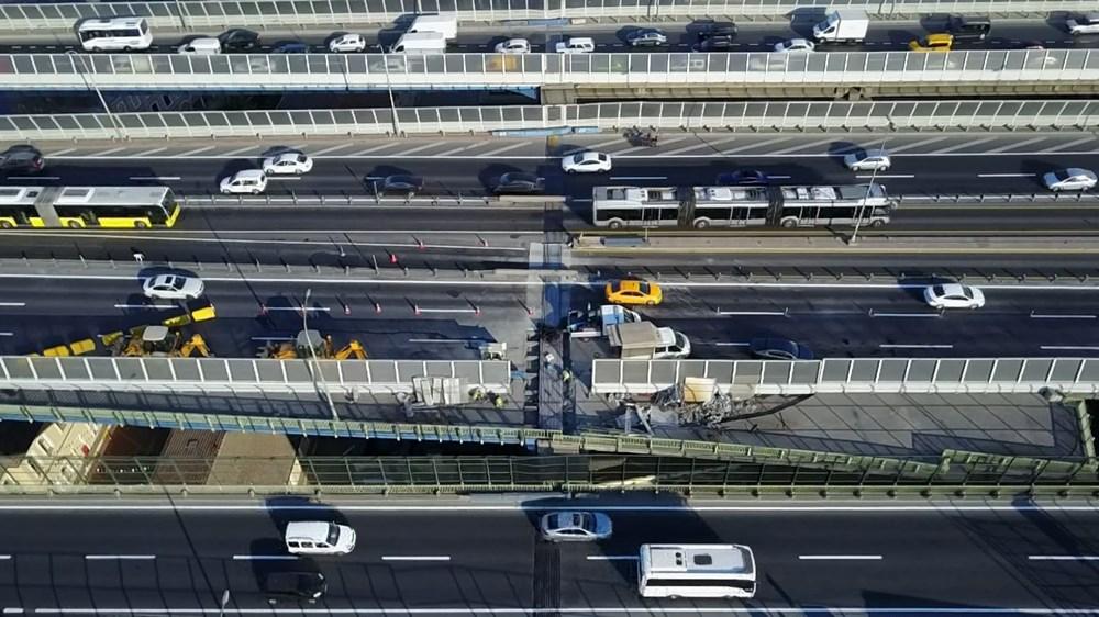 Haliç Köprüsü'ndeki 2'inci etap çalışmaları devam ediyor - 17