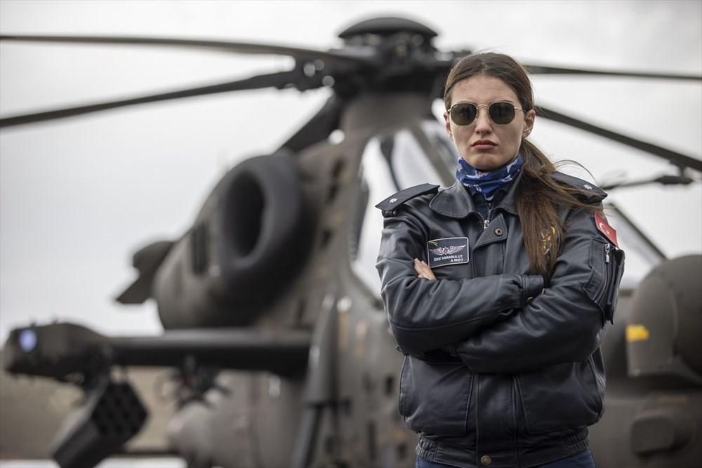Türkiye'nin ilk kadın taarruz helikopter pilotu - 4