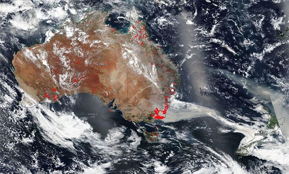 Devasa toz bulutu uzaydan görüntülendi (8 bin kilometre yol kat etti) - 42