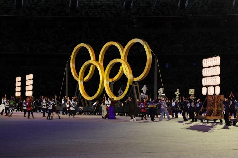 2020 Tokyo Olimpiyatları görkemli açılış töreniyle başladı - 85