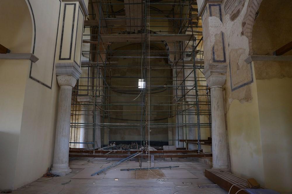 Edirne'deki tarihi Enez Fatih Camisi 56 yıl sonra ibadete açılıyor - 6