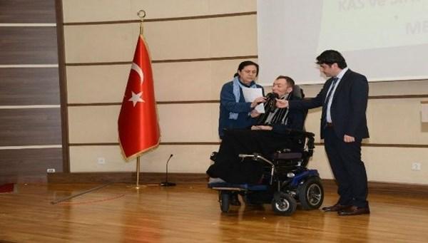 DMD HASTASI ÇAĞLAR'IN HAYALİ GERÇEK...