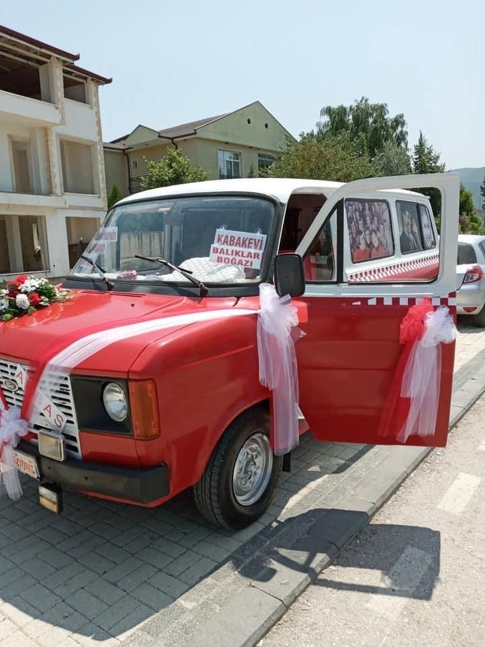 Çiçek Abbas filmindeki minibüsü yapmak için 60 bin TL harcadı - 9