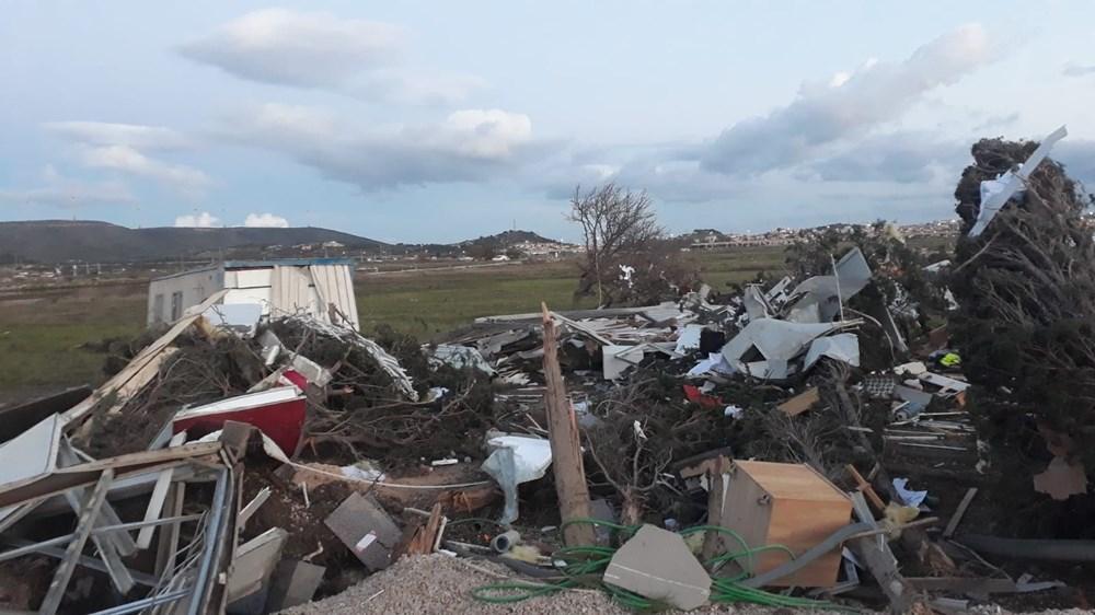 İzmir'de hortum felaketinin boyutları gün ağarınca ortaya çıktı - 14